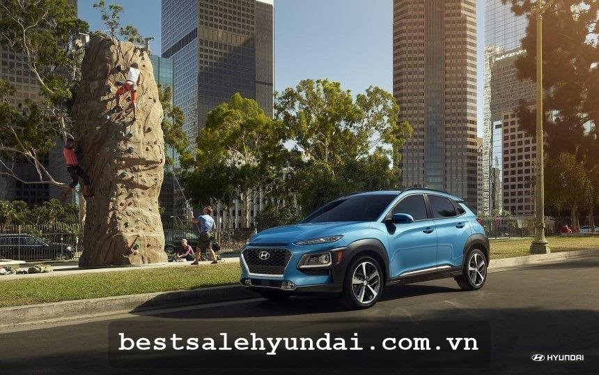 Hyundai Kona 2020 Mau Xanh
