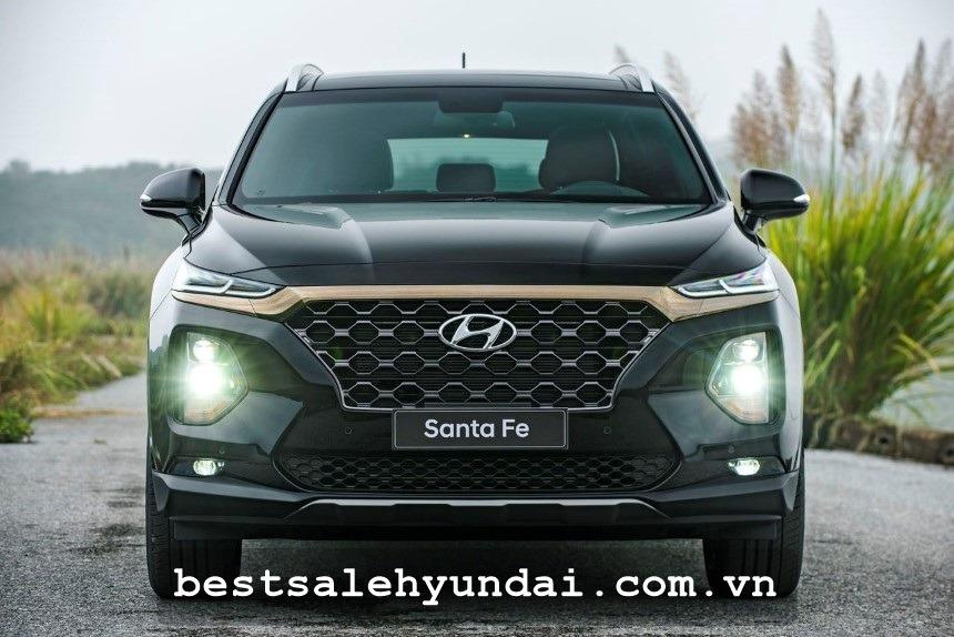 Hyundai Santafe 2020 Den Xe