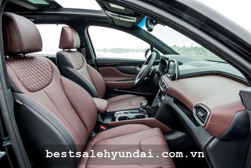 Hyundai Santafe 2020 Ghe Da