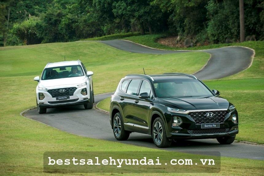 Hyundai Santafe 2020 Mau Den
