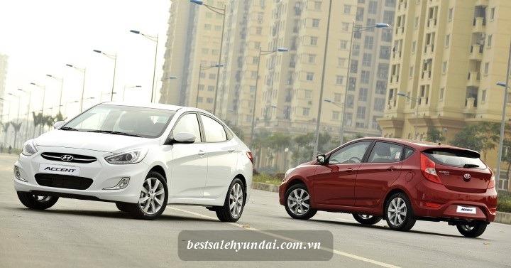 Gia Xe Hyundai Accent Blue Sedan Lan Banh