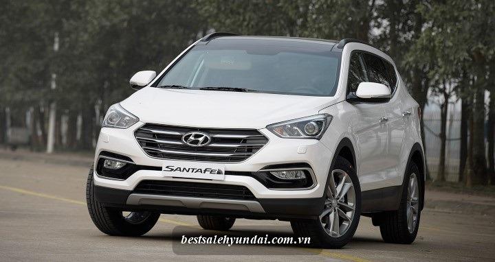 Hyundai 2017 Santafe Trang