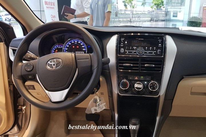 Bang Gia Xe Toyota 2020 Vios Noi That