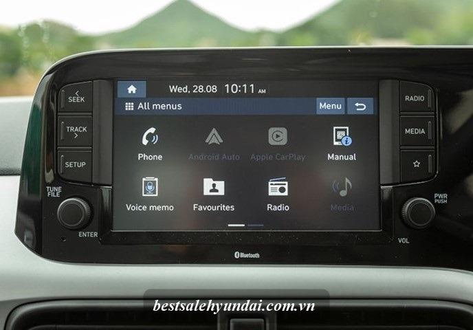 Hyundai i10 2021 Man Hinh 8 Inch