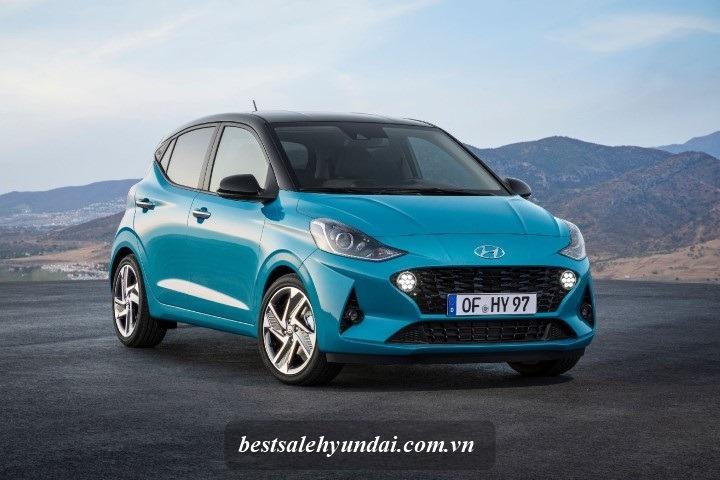 Hyundai i10 2021 Mau Xanh