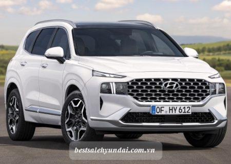 Hyundai Santafe 2021 Den Xe