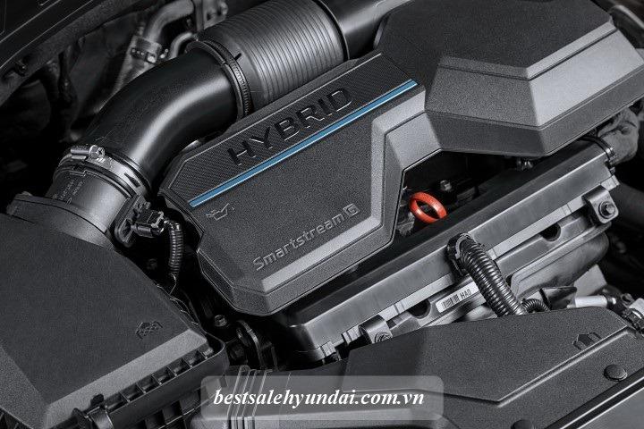 Hyundai Santafe 2021 Dong Co