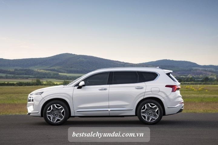 Hyundai Santafe 2021 Than Xe