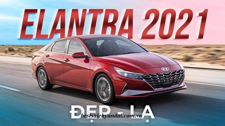 Hyundai Elantra 2021 Den Xe