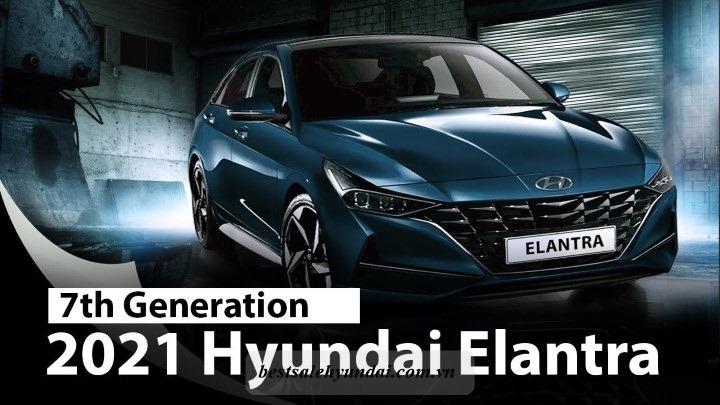 Hyundai Elantra 2021 Mau Xanh
