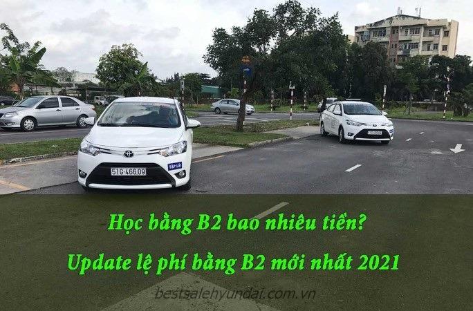 Le Phi Thi Bang Lai Xe O To 2021 Bao Nhieu