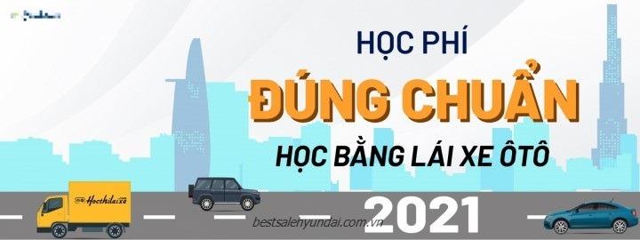 Le Phi Thi Bang Lai Xe O To 2021 Dung Chuan